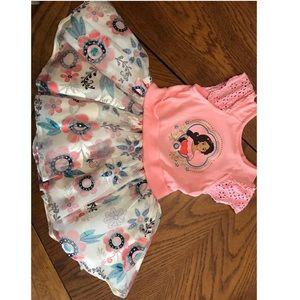 Disney's Elena of Avalor pink toddler dress.